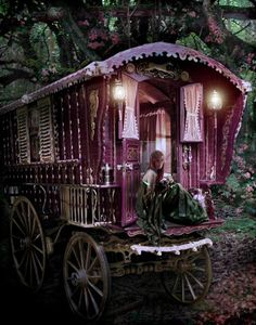Gorgeous Gypsy Wagon