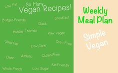 There's a little of everything in this plan to keep you full and satisfied while giving you options to eat all of your favorite foods veggie style. Most of these recipes can be made in minutes and many are also no-bake recipes that you don't need an oven for.