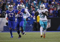 Moore has played well, but key to Dolphins playoff run is defense, Ajayi = It wasn't easy, but with a 34-31 win over the Buffalo Bills and a Denver Broncos loss, the Miami Dolphins have punched their ticket to the playoffs for the first time since 2008. Matt Moore has…..
