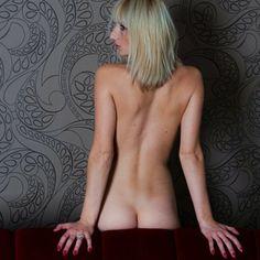 naked back , lol ....