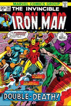 Iron Man # 58 by Rich Buckler & Frank Giacoia Marvel Comics, Marvel Comic Books, Comic Books Art, Comic Art, Book Art, Vintage Comic Books, Vintage Comics, Tony Stark, Iron Man