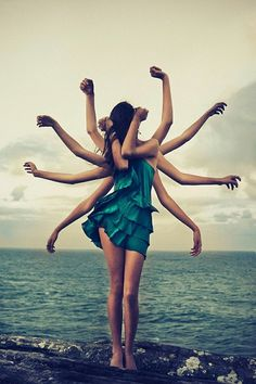 Summer...it makes you feel like you can have no limit to anything. Even arms...