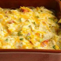 Rotel Chicken Mexican Casserole aka King Ranch Chicken #southern thang