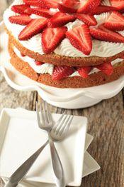 Post image for Strawberry Cream Cake