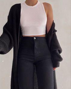 Winter Fashion Outfits, Fashion Clothes, Fall Outfits, Summer Outfits, Fall Clothes, Flannel Outfits, Grunge Outfits, Fashion Dresses, Autumn Outfits Women