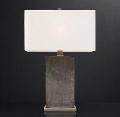 Delano Shagreen Table Lamp