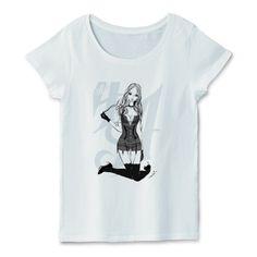 A GIRL NAMED DIVA 歌姫 ロックガール 可憐座 | デザインTシャツ通販 T-SHIRTS TRINITY(Tシャツトリニティ)