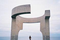 Gijón. Eduardo Chillida
