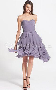 Cheap Lilac  Bridesmaid Dresses