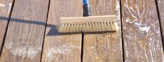 How to preparing a deck for staining.
