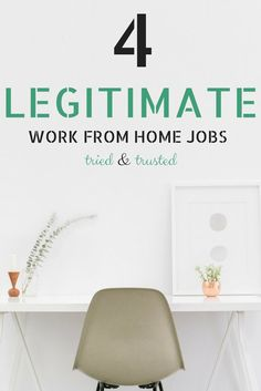 work at home jobs, work from home with these 4 companies, legitimate jobs, make money online
