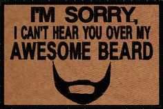 OMLpatches.com - Awesome Beard Morale Patch, $6.50 (http://www.omlpatches.com/awesome-beard-morale-patch/)