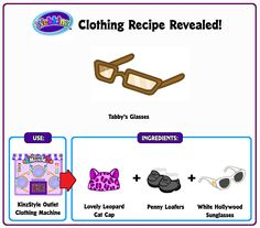 Recipe revealed pomumitta webkinz recipes pinterest recipe revealed tabby glasses forumfinder Image collections