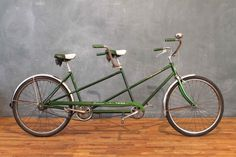 Deep Emerald Schwinn Twin Bicycle--Marty & I have this bike...We bought it in Chicago over 10 yrs ago...So Fun!!!