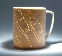 Karen Thompson - Pierced mug