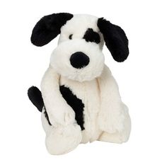 """A child's best friend has long floppy arms that make him easy to hug and hold. This adorable puppy has a sweet face and plush soft fur, and is sure to become an instant favourite. Surface-wash. 10"""" tall"""