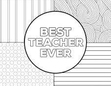 Teacher Appreciation Coloring Pages Paper Trail Design Teacher Appreciation Week Printables Teacher Appreciation Printables Coloring Pages