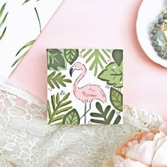 """""""Little flamingo here wants to let you know that he's 30% off (whaaat ?!) a Small Canvas Paintings, Small Canvas Art, Easy Canvas Painting, Cute Paintings, Mini Canvas Art, Gouache Painting, Diy Painting, Diy Canvas, Paintings Tumblr"""