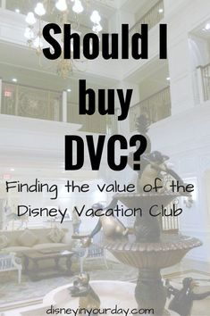 Is buying into the Disney Vacation Club (DVC) right for you?  This article may help you decide.