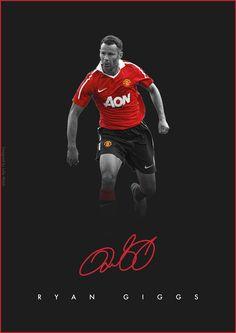 Premier League Legends on Behance - Ryan Giggs - Manchester United