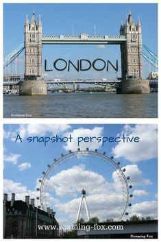 The pulse of London: A snapshot perspective. Photos of tourist hotspots as well as some unusual sights