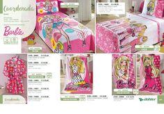 Colcha. roupão .toalhas Barbie da Döhler no catálogo Golfran Fiancée