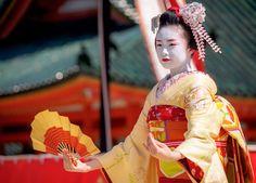 maiko 舞妓 Ichiyu 市結 先斗町 KYOTO JAPAN