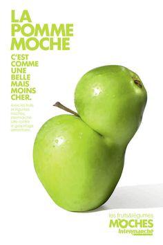 Intermarché: campagne publicitaire pour les fruits et légumes non calibrés