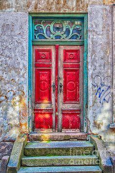 A door in Helsingor, Denmark