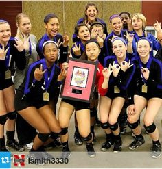 #10- Crazy Team Photo- Happy girls...Northern Lights USA Division Champions