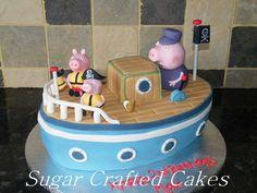 Grandpa pigs boat