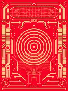 ENCOM - Tron '82 - by Brandon Schaefer