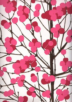 Marimekko beautiful fabric print