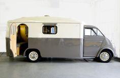 Le camping-car Passe partout: Camping-car insolite : spécial rétro et anciens