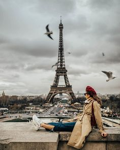 A gloomy day in Paris is still better than a good day anywhere else. Chilling at Trocadero in front of the Eiffel Tower. Paris France, Nice, Marseille France, Paris Pictures, Paris Photos, Travel Pictures, Travel Photos, Sainte Chapelle Paris, Parisian Style