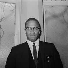 """Malcolm X // """"Don't be in such a hurry to condemn a person because he doesn't do what you do, or think as you think. There was a time when you didn't know what you know today. Malcolm X, Important People, African Diaspora, Historical Pictures, Civil Rights, Human Rights, Black History, Gq, Actors"""