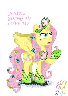 Annoyed Princess Fluttershy by teammagix on DeviantArt