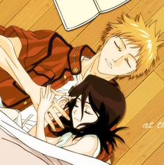 bleach ichigo and rukia kiss - Buscar con Google