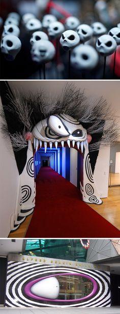 Não tem como negar que o design de Tim Burton é incrível