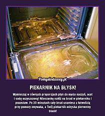 porządki na Stylowi.pl Oven Cleaning, Cleaning Hacks, Detox Your Home, Guter Rat, Dyi, Pinterest Projects, Simple Life Hacks, Diy Cleaners, Shabby