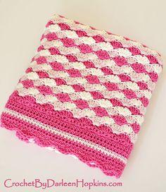 Ravelry: Baby Blanket Shells of Love pattern by Darleen Hopkins
