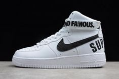 best service a1576 78dba Supreme x Nike Air Force 1 High White 698696-100 Mens and Womens Size Air