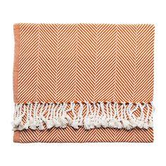 Autumn Herringbone Throw, $250 | Serena & Lily