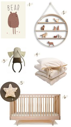 natural nursery decor ideas