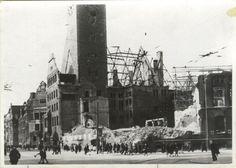 1945: Zerstörtes Rathaus Neukölln Germany Europe, Berlin Germany, Total War, World War, Wwii, Battle, Bb, The Past, History