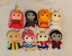 These are the most adorable things ever 😍😲😱 Adventure Time Crochet, Adventure Time Plush, Adventure Time Parties, Cute Crafts, Diy And Crafts, Totoro, Adveture Time, Jake The Dogs, Plush Pattern