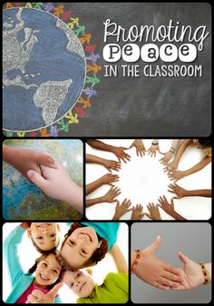 Promoting Peace In The Classroom-- ways to set up a #peaceful classoom