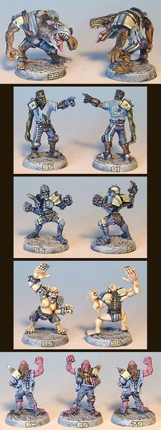 Blood Bowl Necromatic team by James