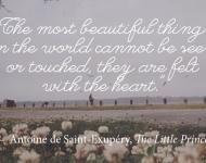 Inspiration - Antoine de Saint-Exupery