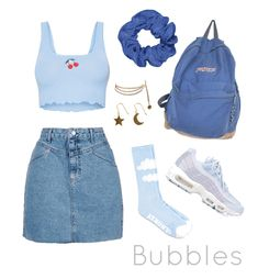 2 of 3 powerpuff girls. Discover outfit ideas for made with the shoplook outfit maker. How to wear ideas for 95 sneakers and Star/Moon Earrings Cute Casual Outfits, Retro Outfits, Summer Outfits, 2000s Fashion, Teen Fashion Outfits, Aesthetic Fashion, Aesthetic Clothes, Bubble Costume, Powerpuff Girls Costume